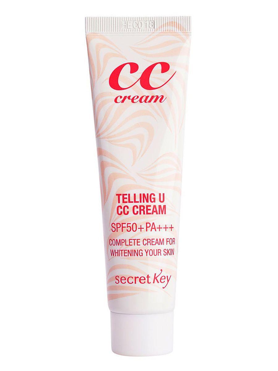 СС крем для сияния кожи SECRET KEY Telling U CC Cream - 30 мл