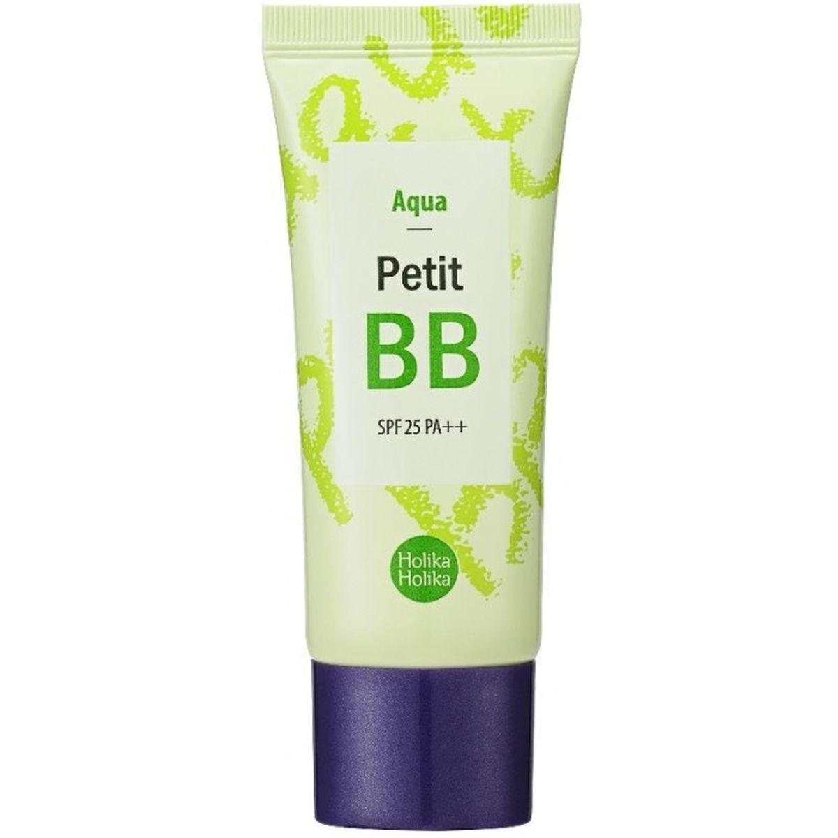 Освежающий ББ-крем HOLIKA HOLIKA Petit Aqua BB SPF25 PA++ - 30 мл