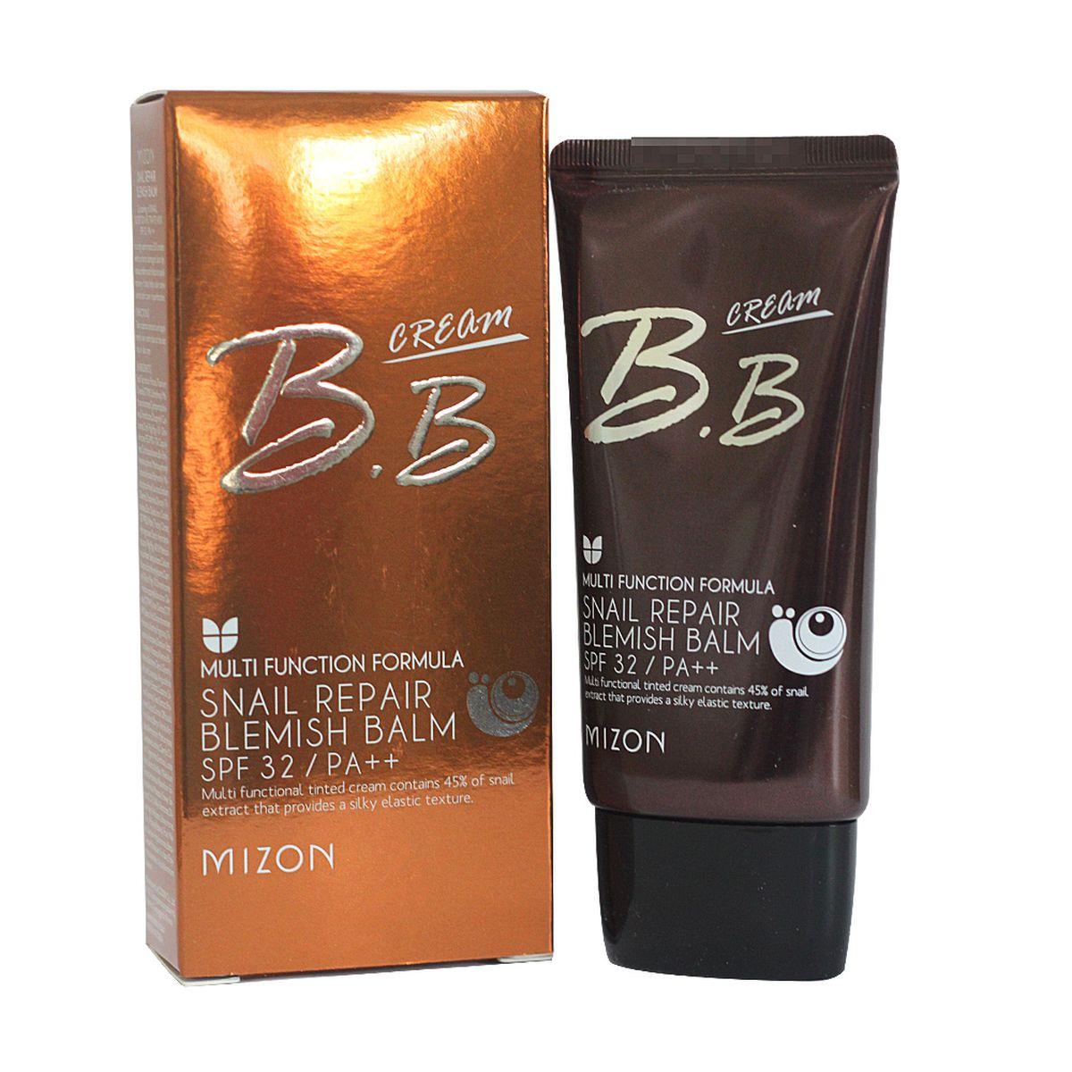 ББ крем с муцином улитки MIZON Snail Repair Blemish Balm Cream SPF32 PA++ - 50 мл