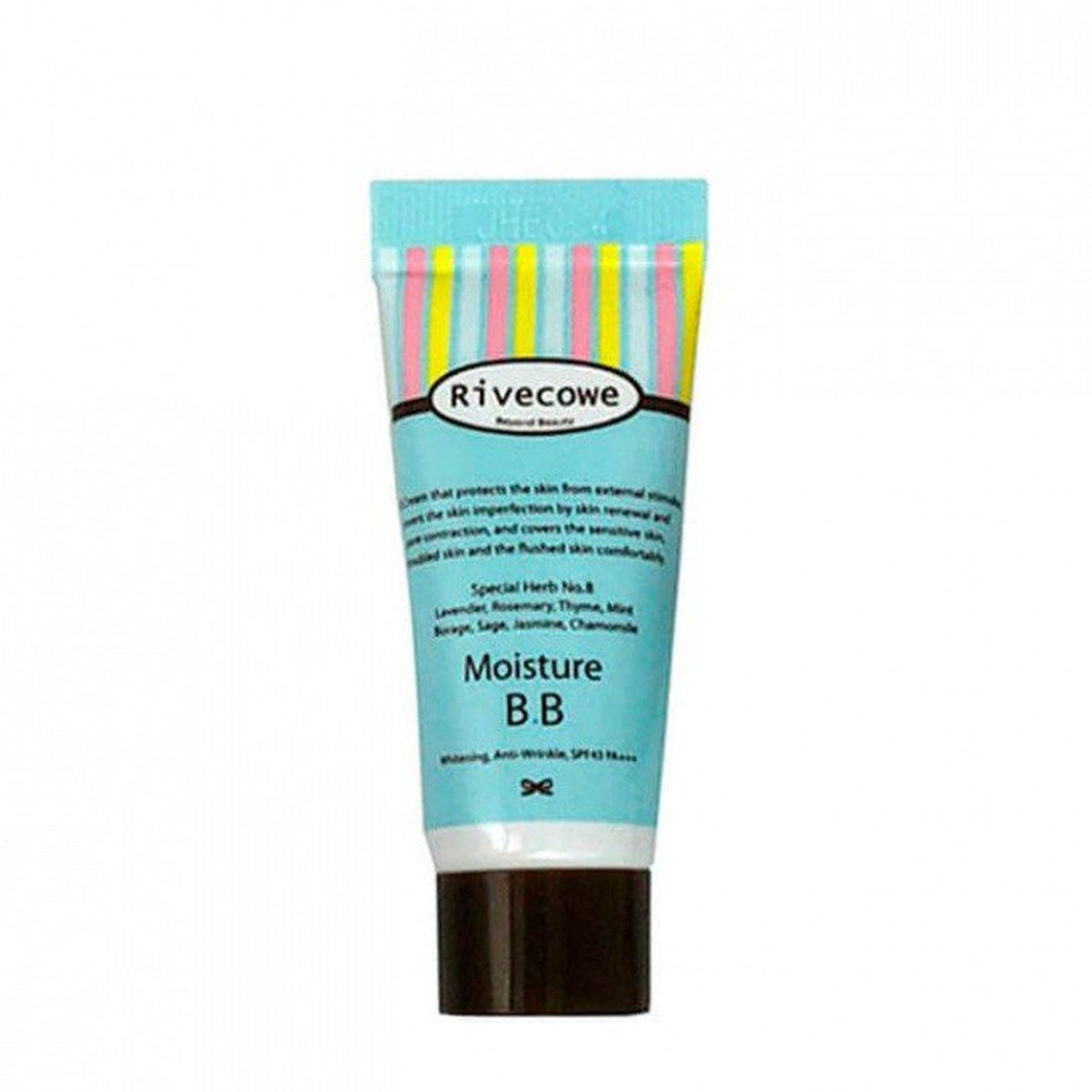 Миниатюра ББ-крема RIVECOWE Beyond Beauty Moisture BB SPF30 РА+++ - 5 мл