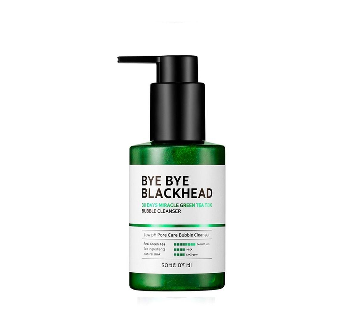 Маска-пенка от чёрных точек Some By Mi Bye Bye Blackhead Bubble Cleanser - 120 мл