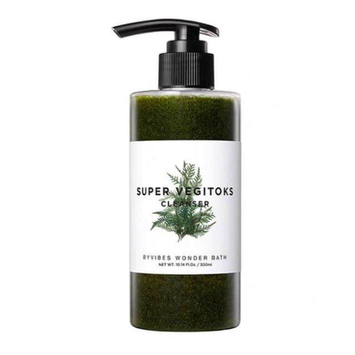 Универсальная детокс пенка Wonder Bath Super Vegitoks Cleanser Green - 200 мл
