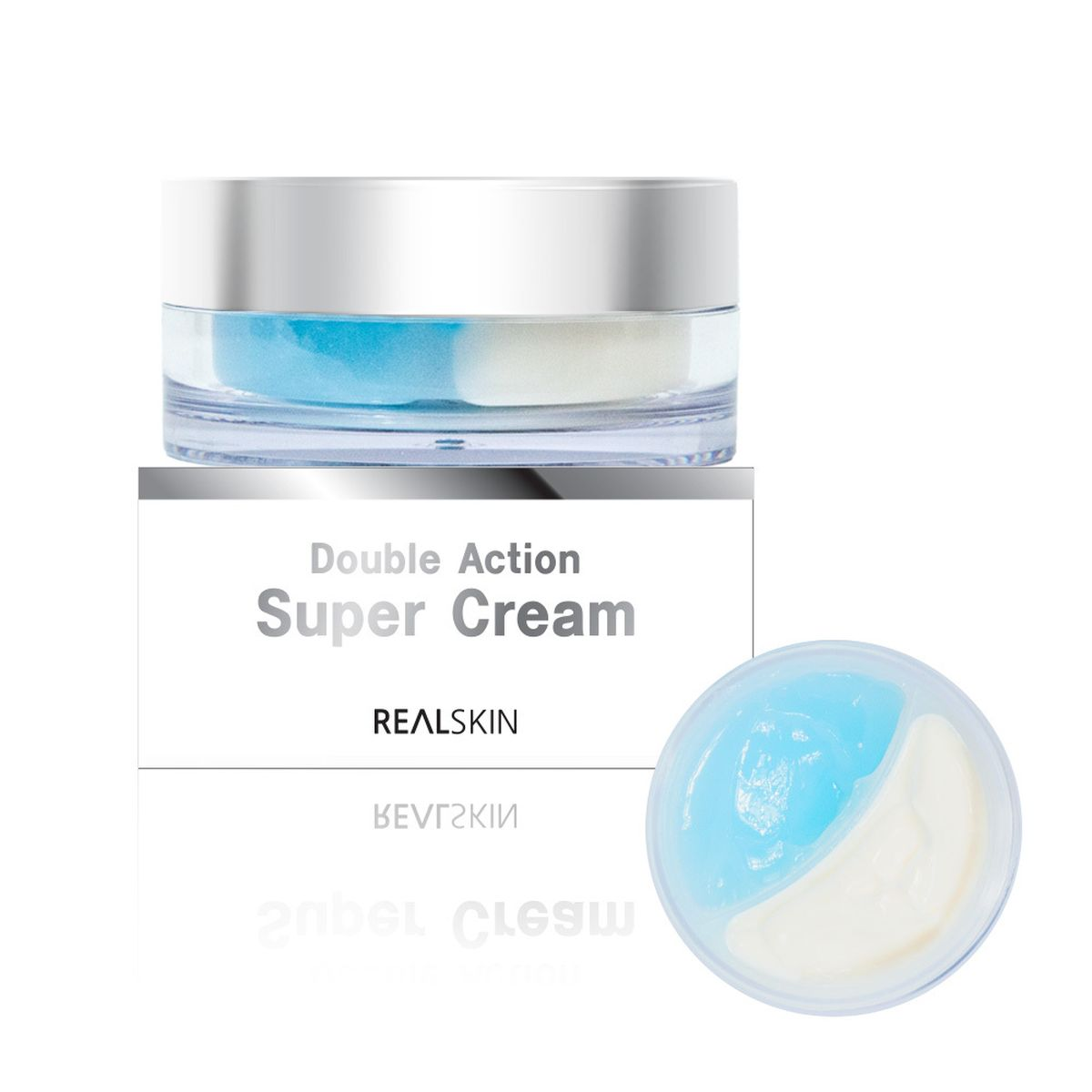 Двойной крем для увлажнения и питания Realskin Double Action Super Cream - 100 мл