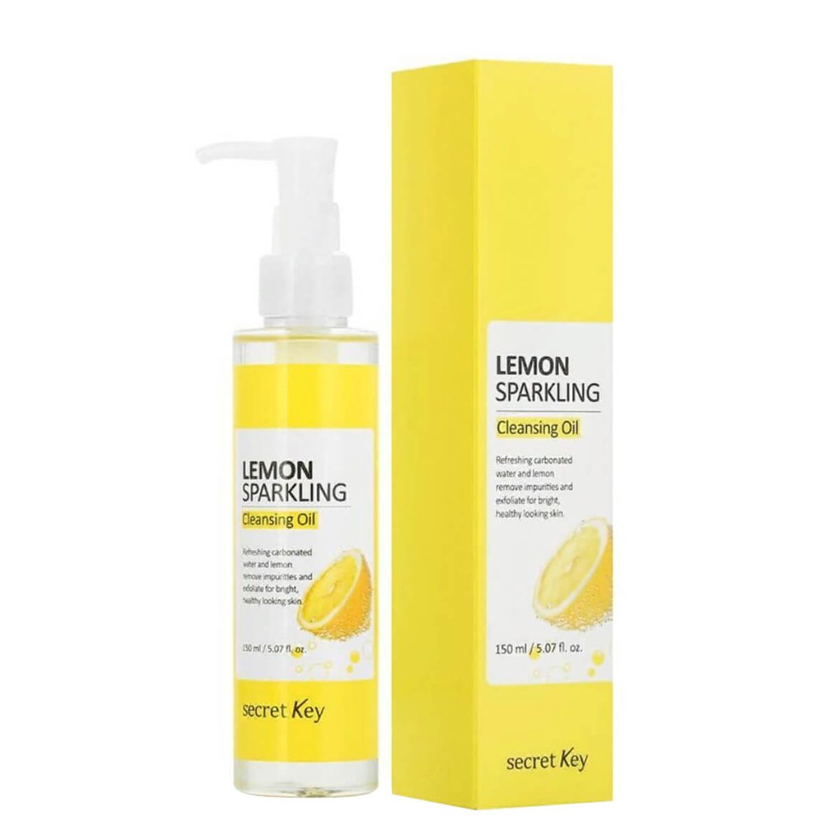 Гидрофильное масло с лимоном SECRET KEY Lemon Sparkling Cleansing Oil - 150 мл