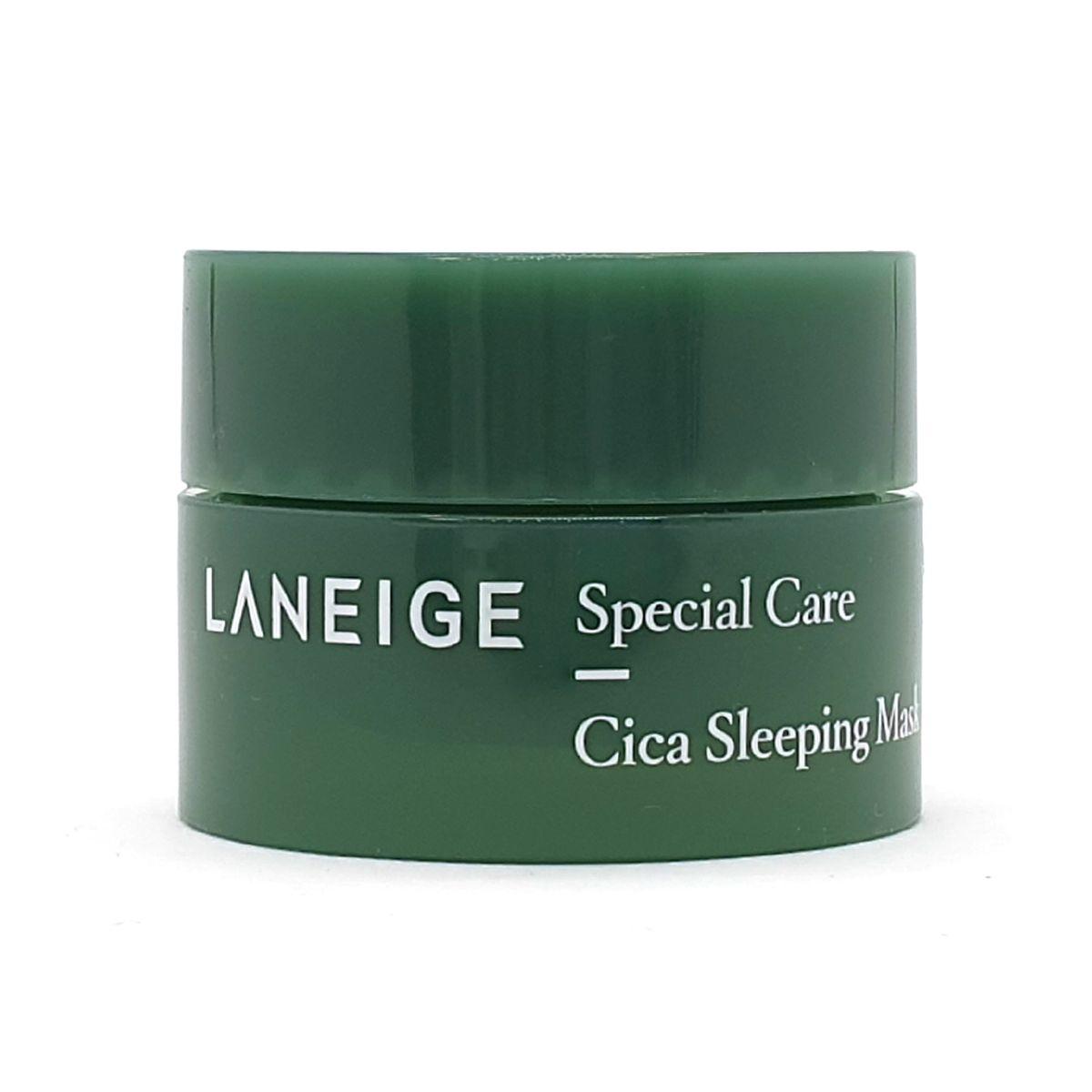 Миниатюра ночной маски для проблемной кожи Laneige Special Care Cica Sleeping Mask - 10 мл