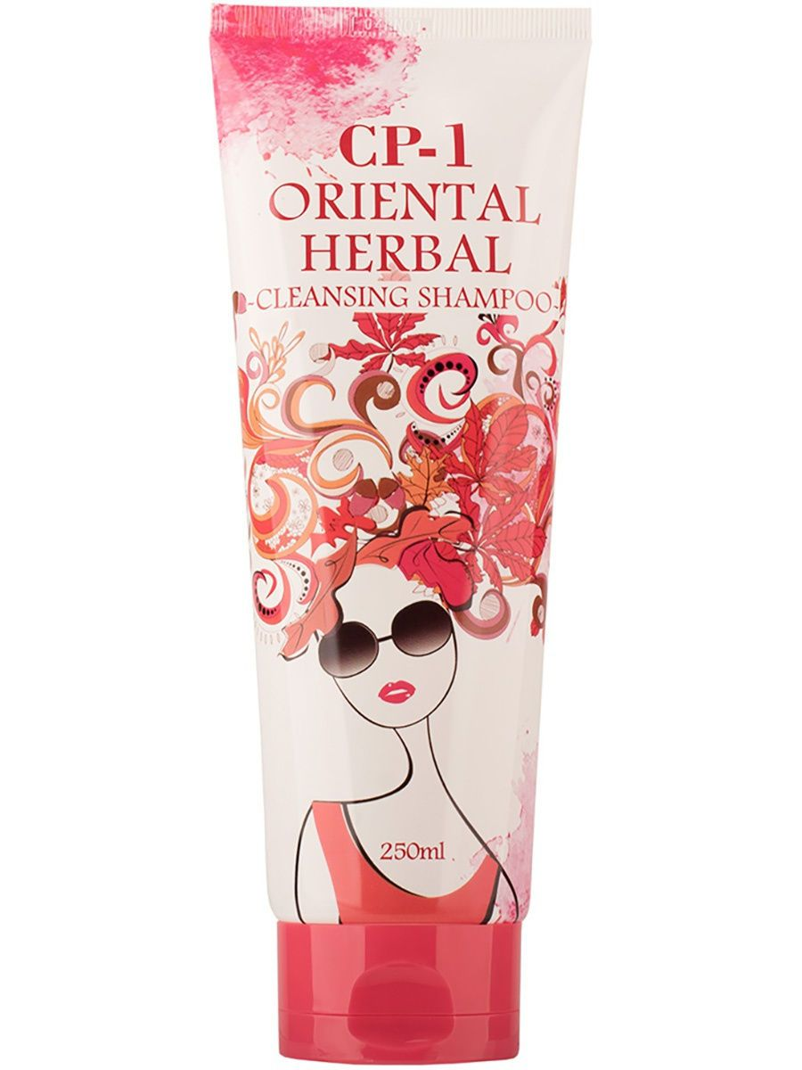 Освежающий шампунь для волос Esthetic House CP-1 Oriental Herbal Cleansing Shampoo - 250 мл