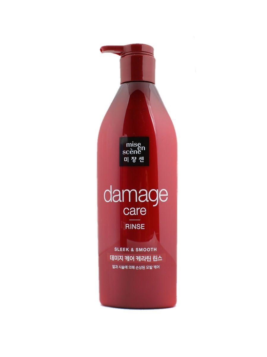 Кондиционер для поврежденных волос MISE EN SCENE Damage Care Rinse - 680 мл
