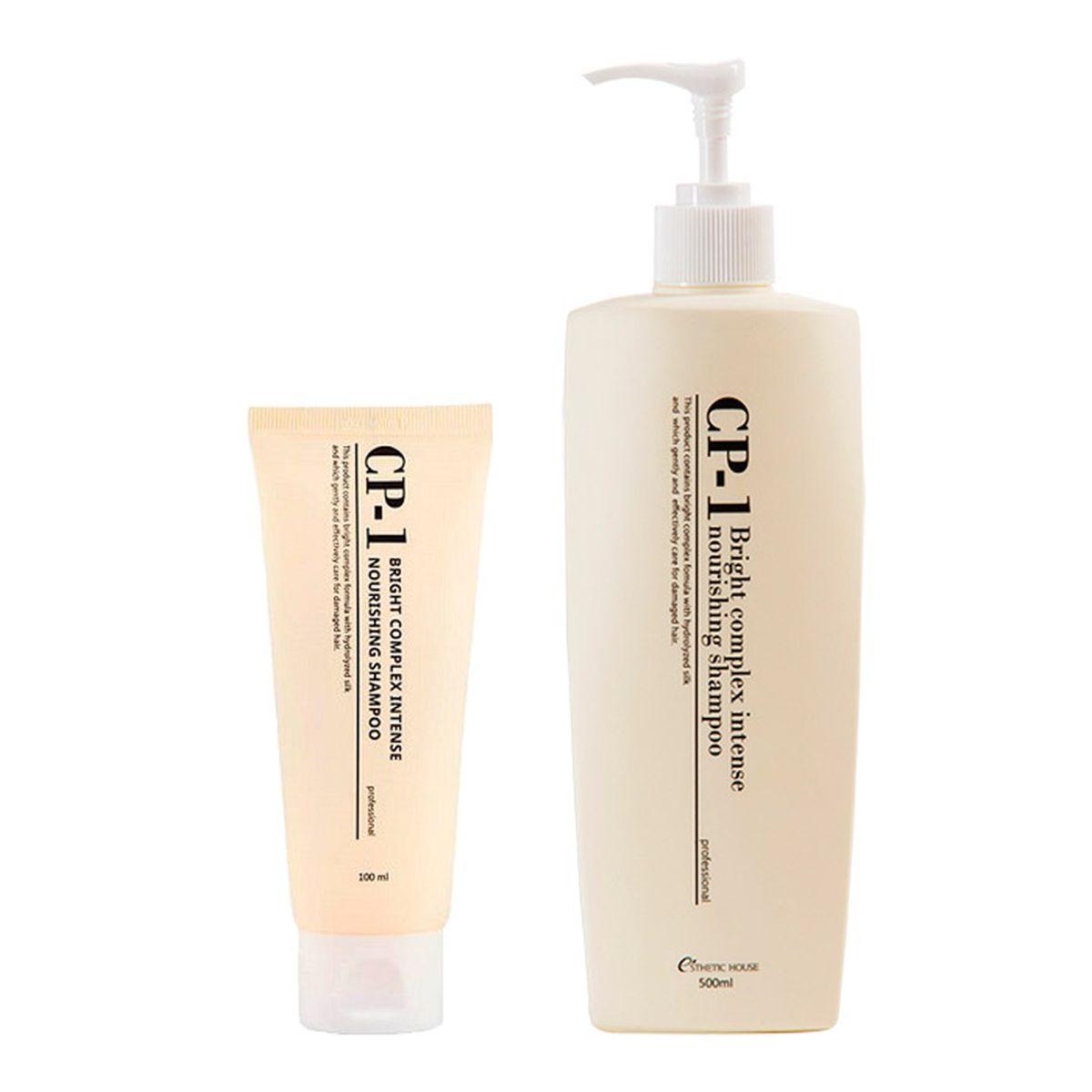 Шампунь для волос Esthetic House CP-1 Bright Complex Intense Nourishing Shampoo - 100/500 мл