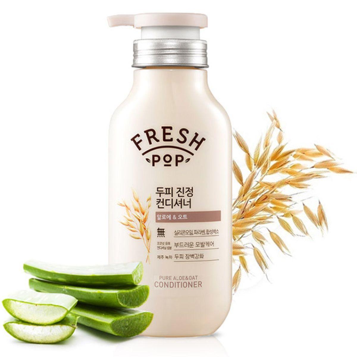 Кондиционер для чувствительной кожи головы Fresh Pop Pure Aloe - Oat Conditioner - 500 мл