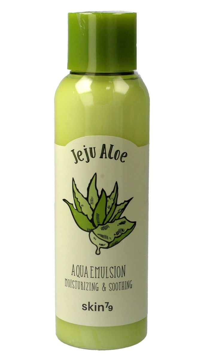 Увлажняющая и успокаивающая эмульсия с алоэ вера SKIN79 Jeju Aloe Aqua Emulsion Moisturizing & Soothing