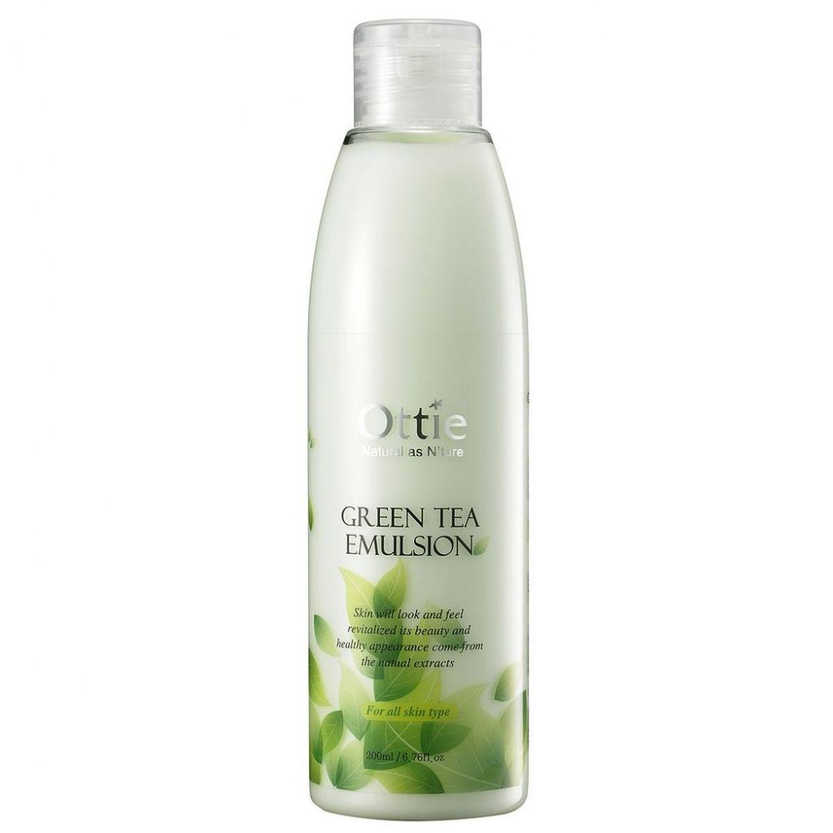Эмульсия для лица с зеленым чаем Ottie Green Tea Emulsion - 200 мл