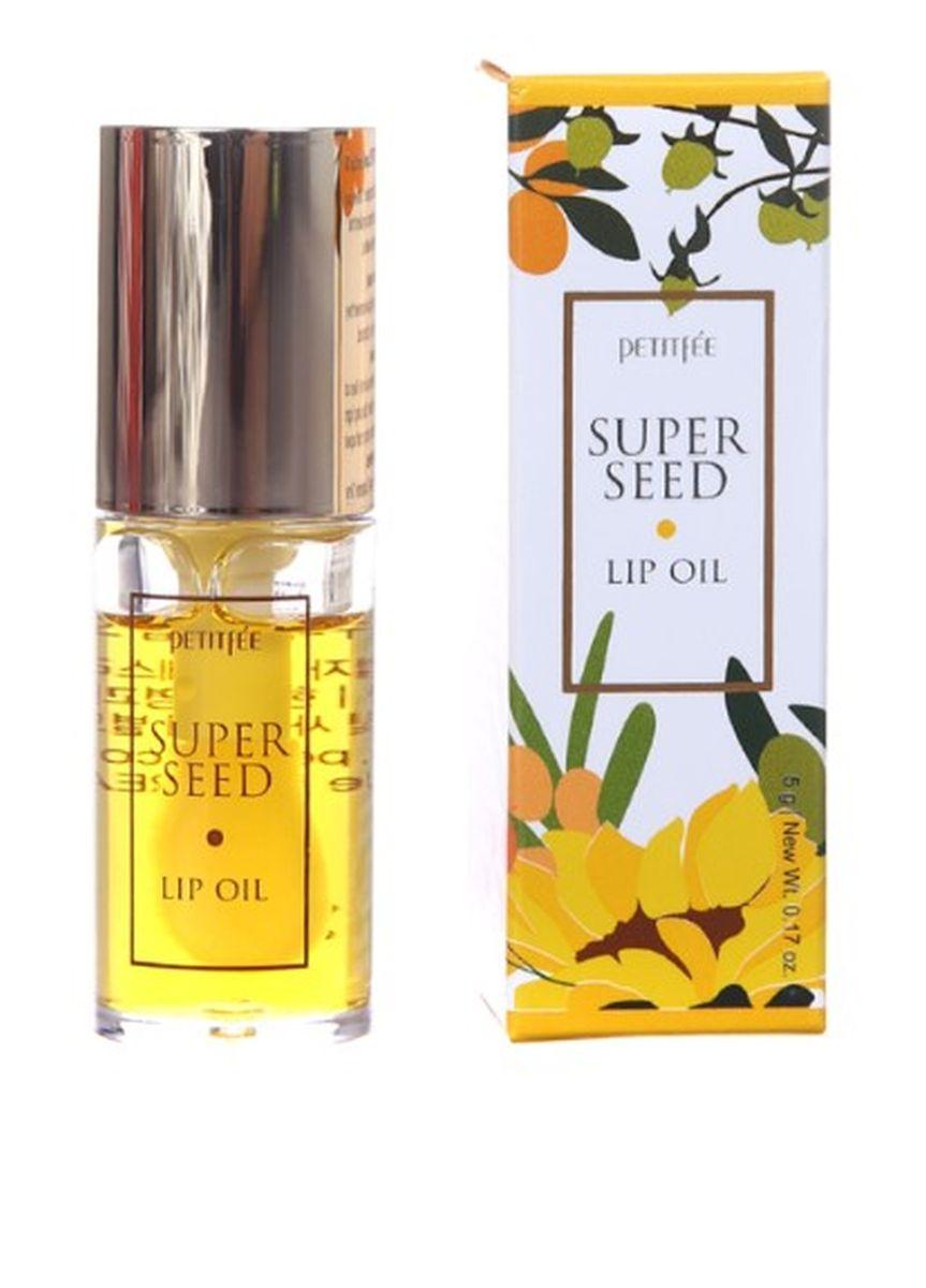 Питательное масло для губ Petitfee Super Seed Lip Oil - 5 гр