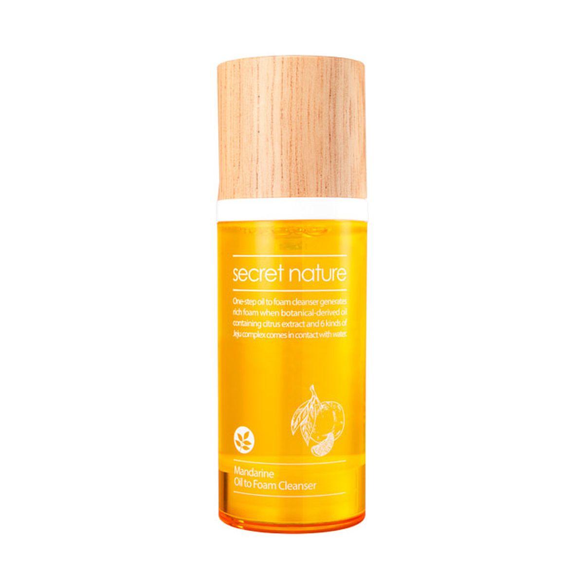 Гидрофильное масло-пенка с мандарином Secter Nature Mandarine Oil to Foam Cleanser - 100 мл