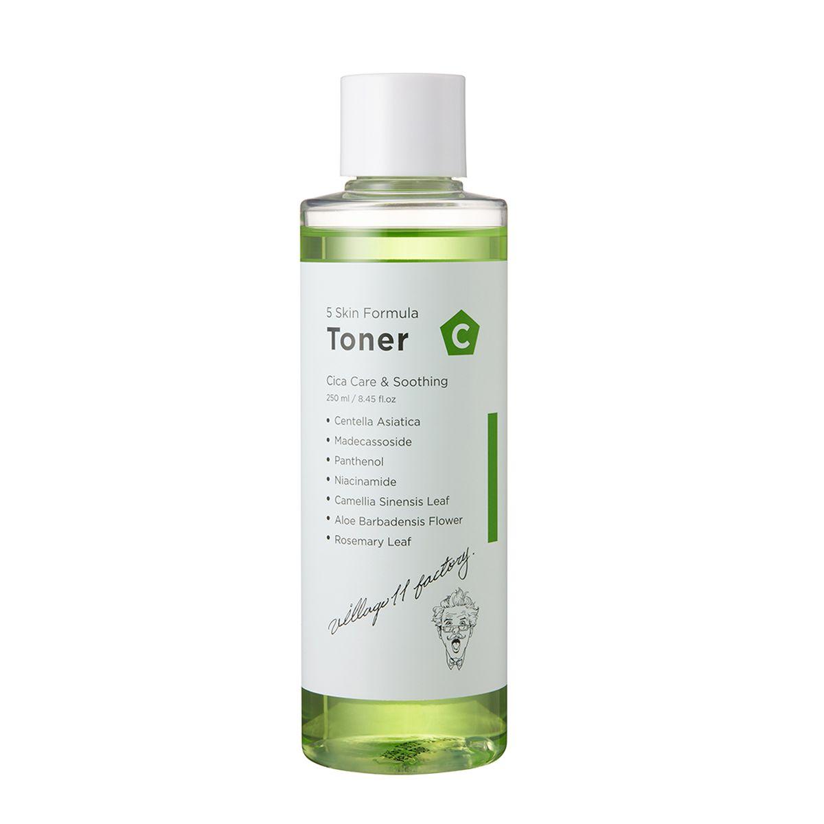 Успокаивающий тонер с центеллой  Village 11 Factory С Skin Formula Toner - 250 мл