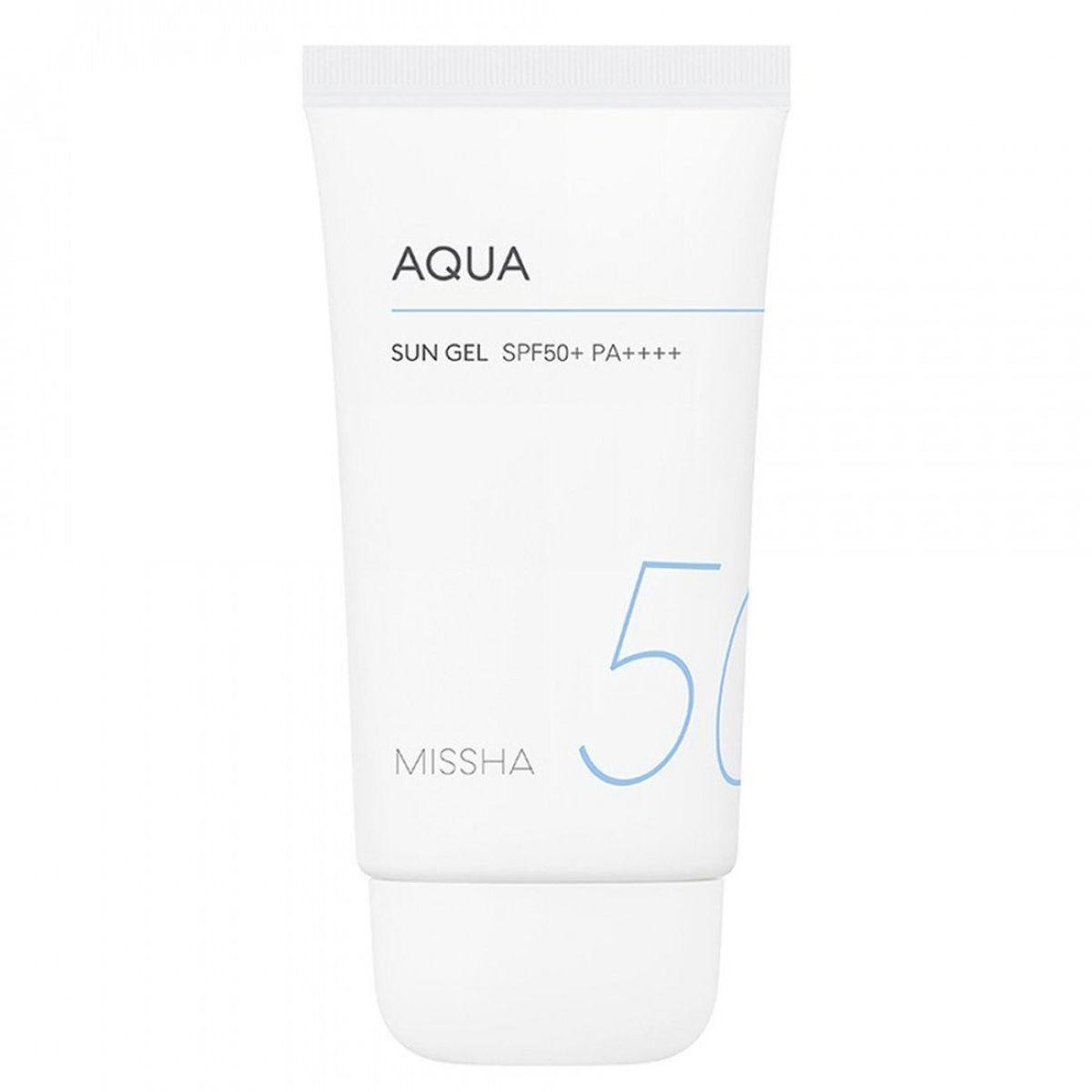 Солнцезащитный гель MISSHA All Around Safe Block Aqua Sun Gel SPF50+/PA+++ - 50 мл