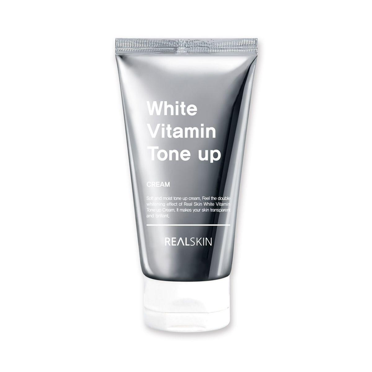 Осветляющий крем для лица REALSKIN White Vitamin Tone-Up Cream - 100 мл