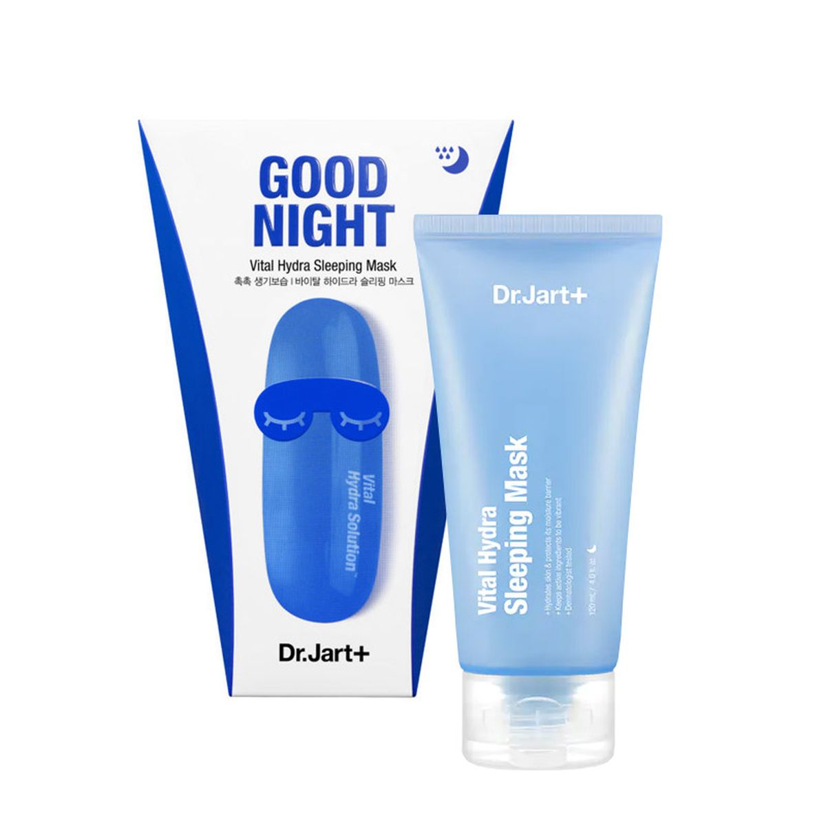 Увлажняющая ночная маска Dr.Jart+ Good Night Vital Hydra Sleeping Mask - 120 мл
