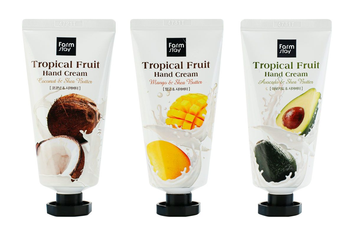 Крем для рук тропические фрукты FARMSTAY Tropical Fruit Hand Cream - 50 мл