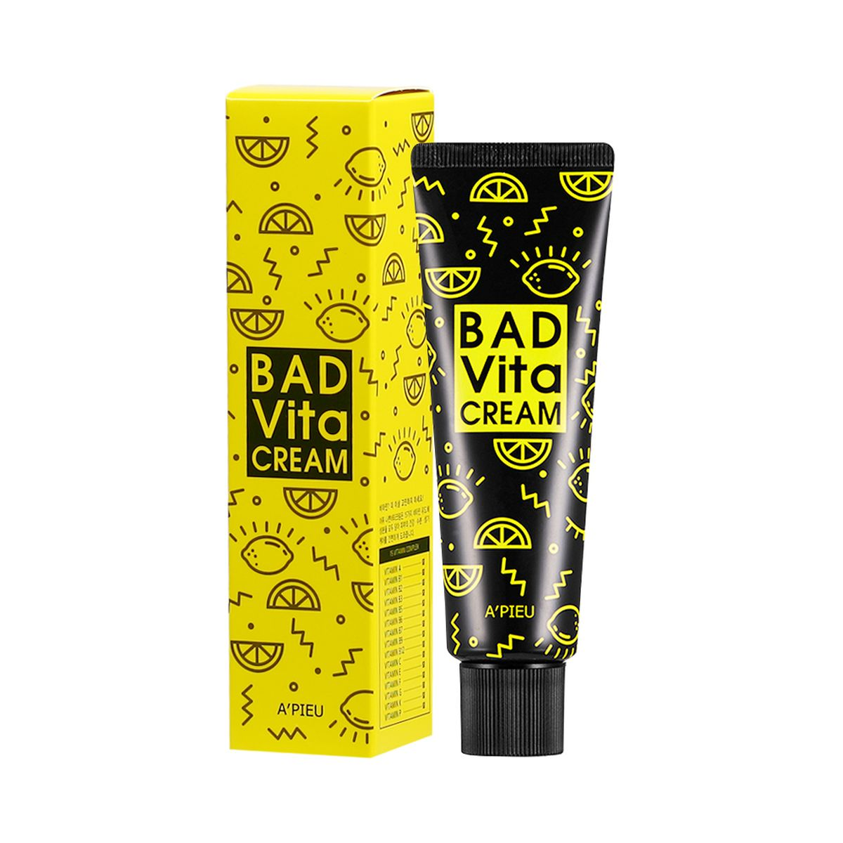 Крем для лица с витаминным комплексом A'PIEU Bad Vita Cream - 50 мл