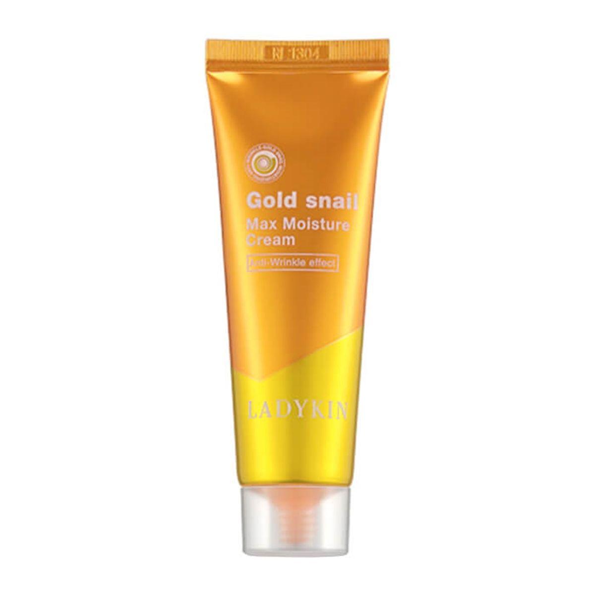 Крем с золотом и муцином улитки LADYKIN Gold Snail Max Moisture Cream - 50 мл