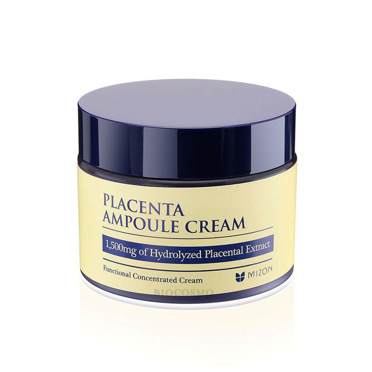 Антивозрастной крем с плацентой MIZON Placenta Ampoule Cream - 50 мл