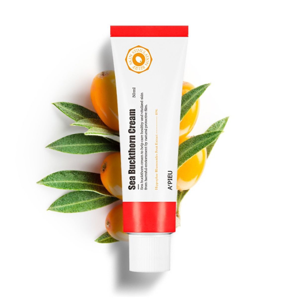 Восстанавливающий крем с облепихой A'PIEU Sea Buckthorn Cream - 50 мл