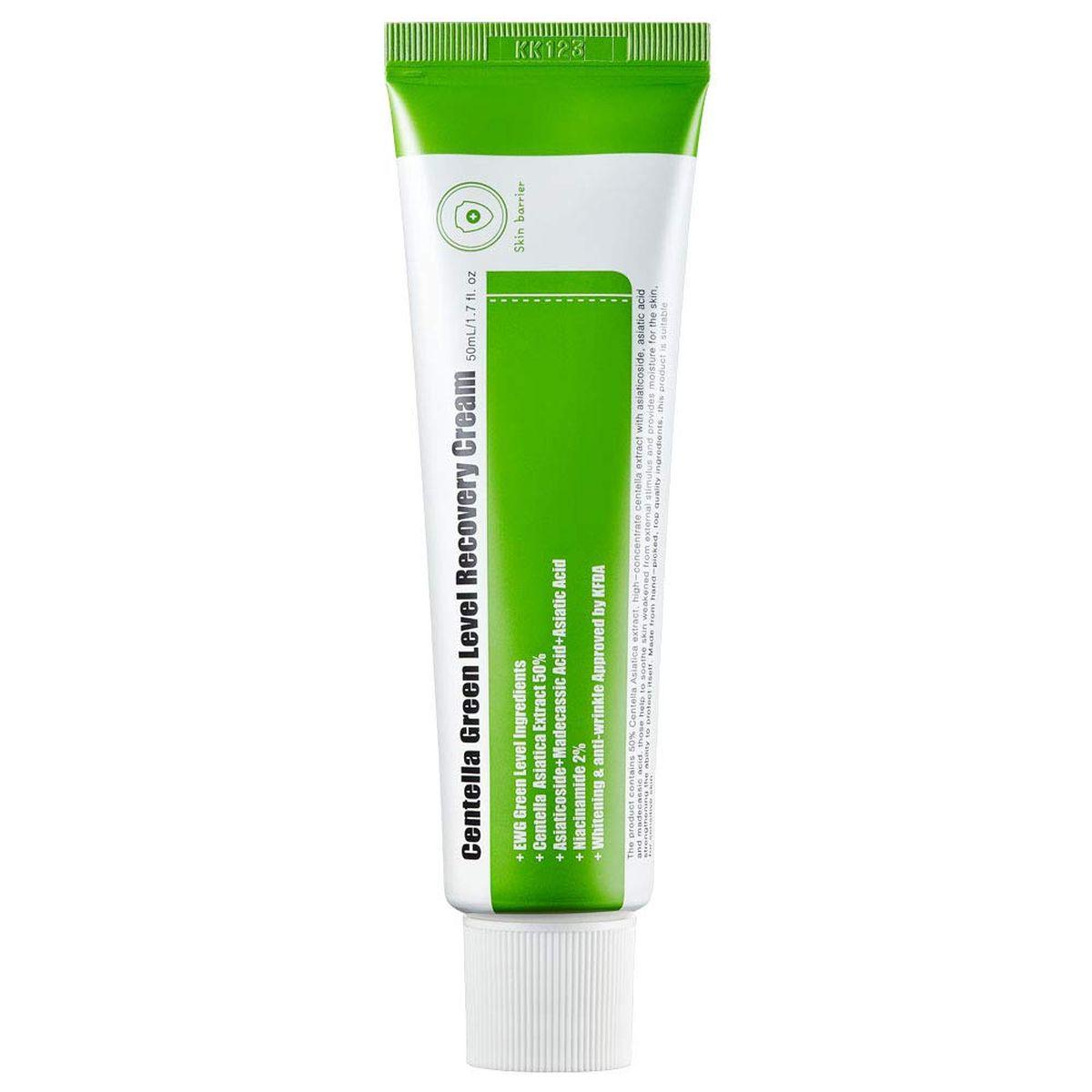 Успокаивающий крем с центеллой PURITO Centella Green Level Recovery Cream - 50 мл