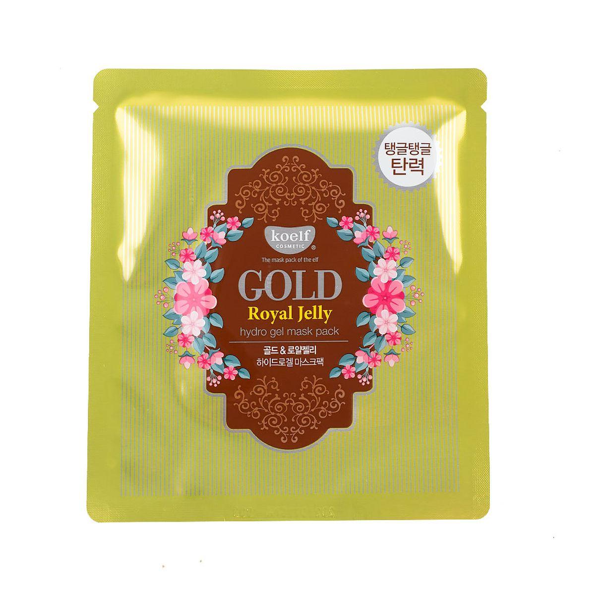Гидрогелевая маска для лица с золотом Koelf Gold & Royal Jelly Mask - 30 мл
