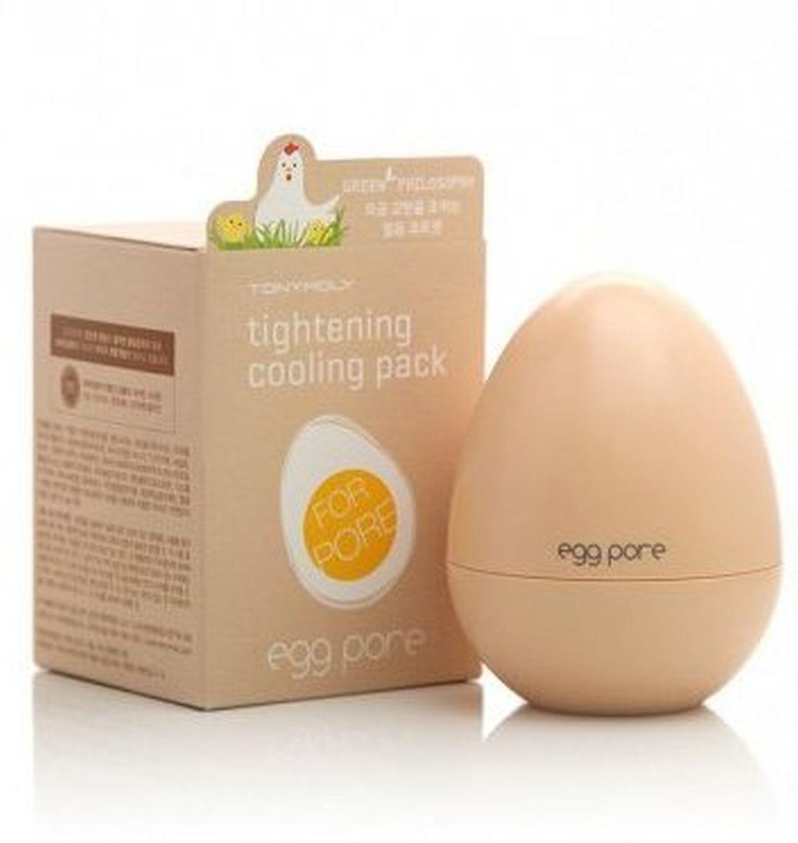 Маска для очищения и сужения пор TONY MOLY Egg Pore Tightening Cooling Pack - 30 гр