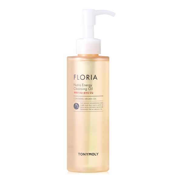 Гидрофильное масло TONY MOLY Floria Nutra-Energy Cleansing Oil With Argan Oil - 190 мл