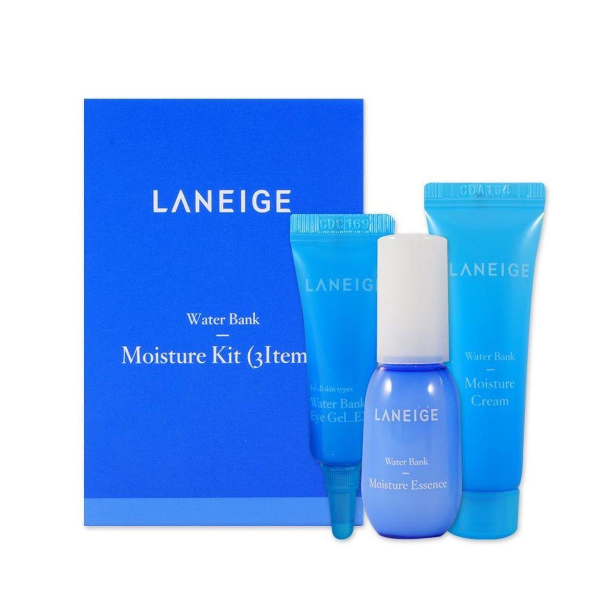 Набор миниатюр для увлажнения кожи Laneige Water Bank Moisture Kit 3 items