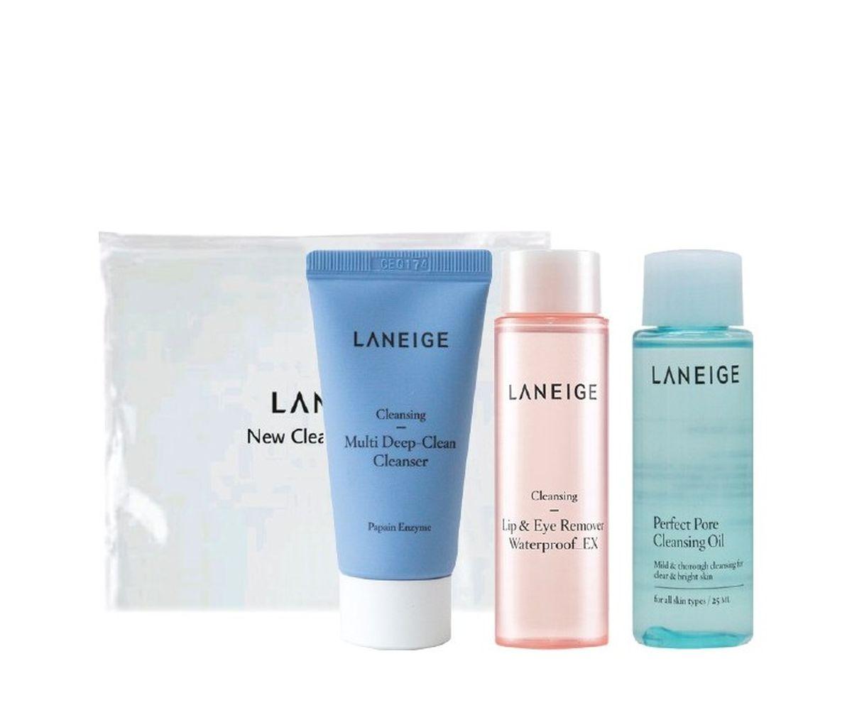 Очищающий набор для лица Laneige New Cleansing Trial Kit