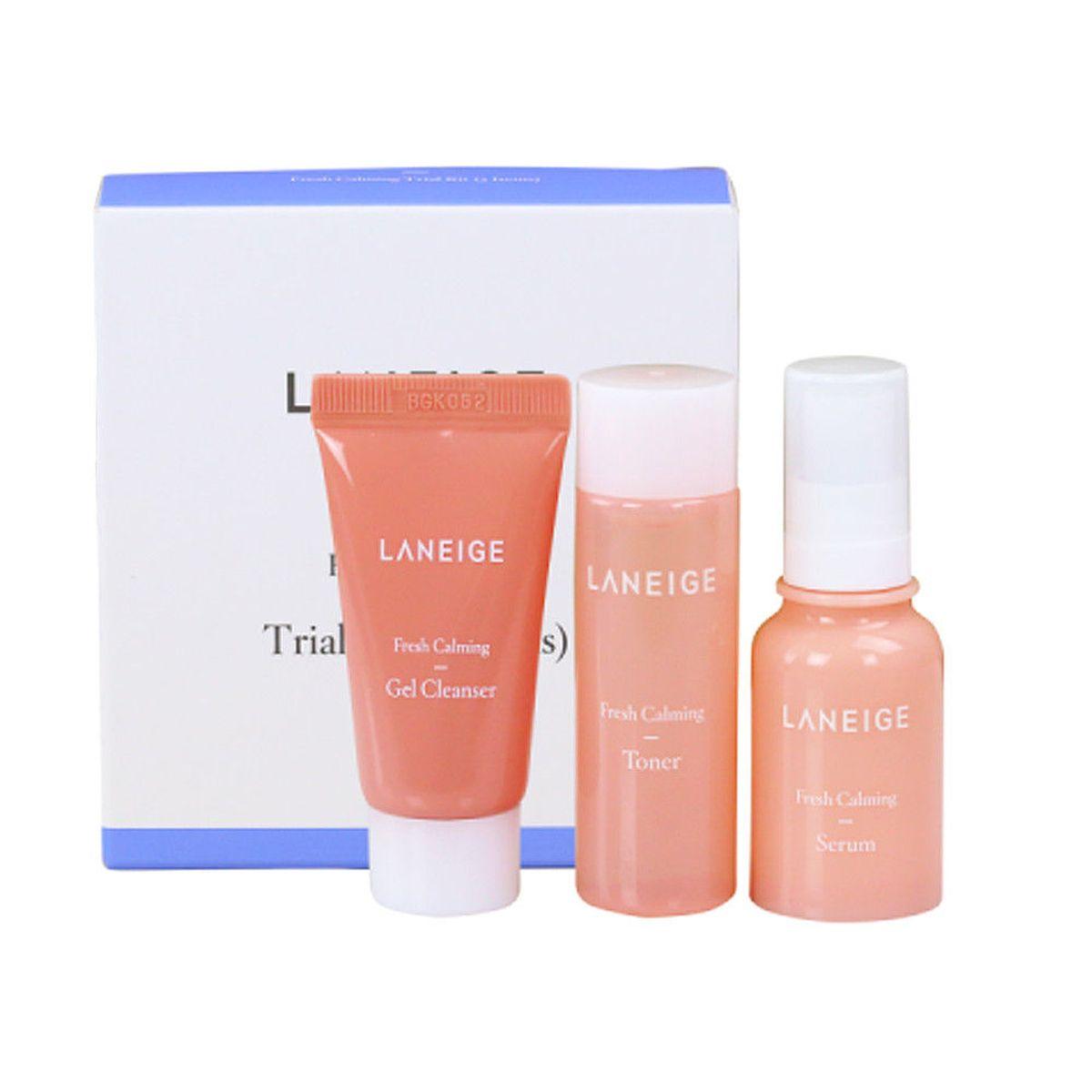 Увлажняющий набор миниатюр для лица Laneige Fresh Calming Trial Kit