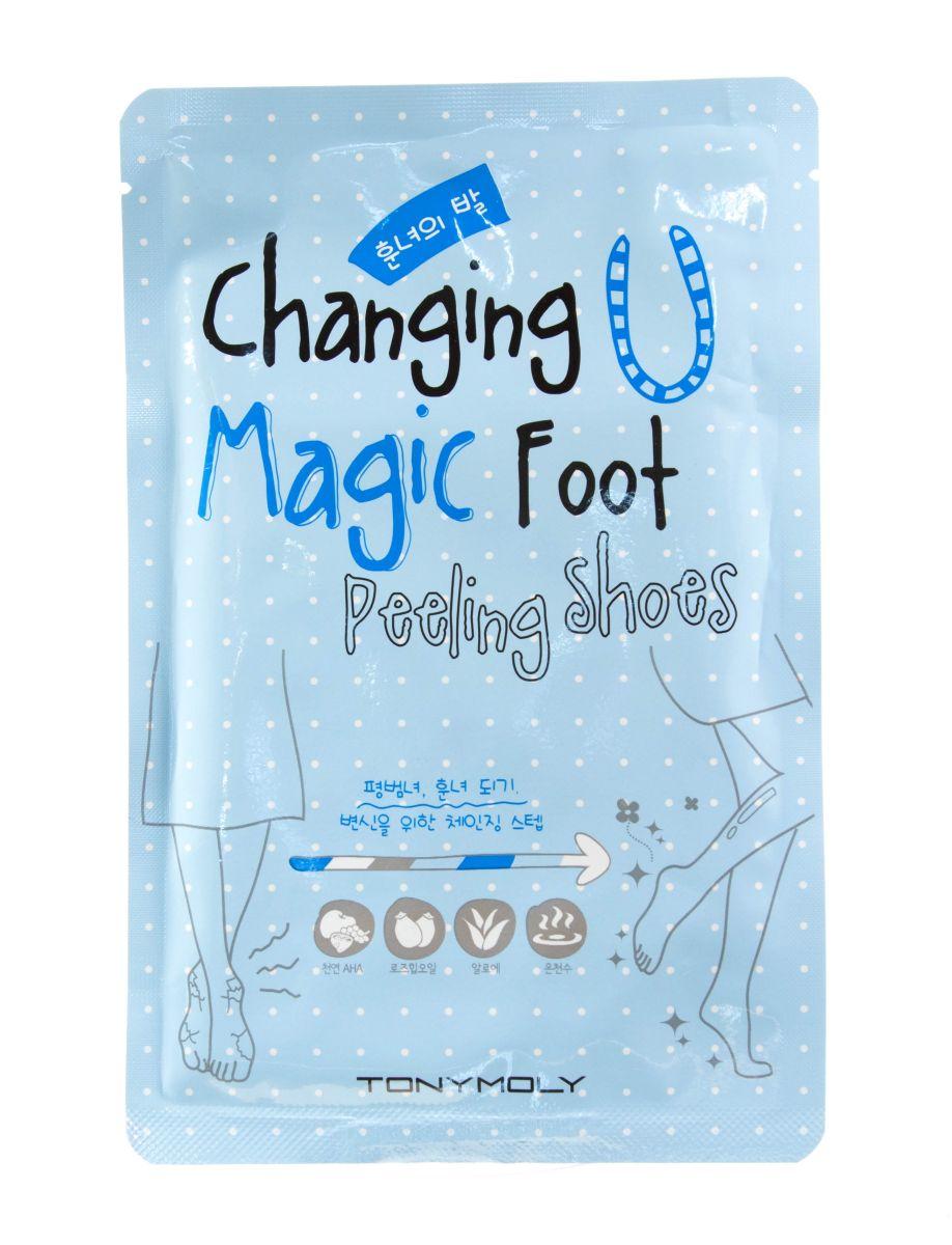 Пилинг-носочки для ног TONY MOLY Changing U Magic Foot Peeling Shoes - 1 пара