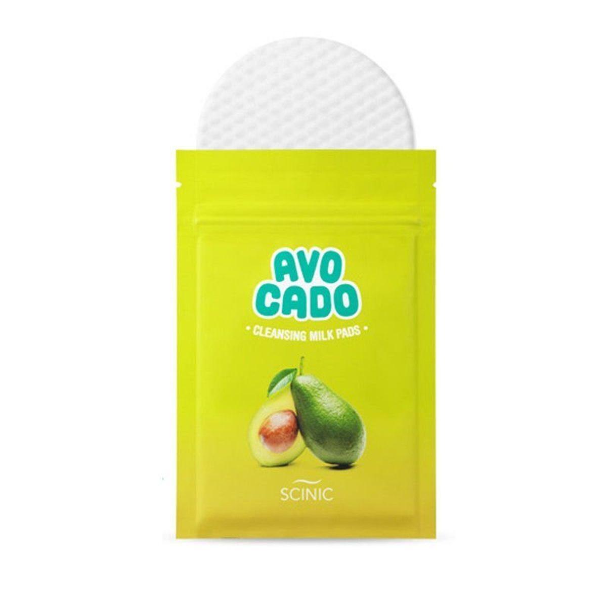 Спонж для снятия макияжа Scinic Avocado Lip And Eye Remover Pads - 1 шт