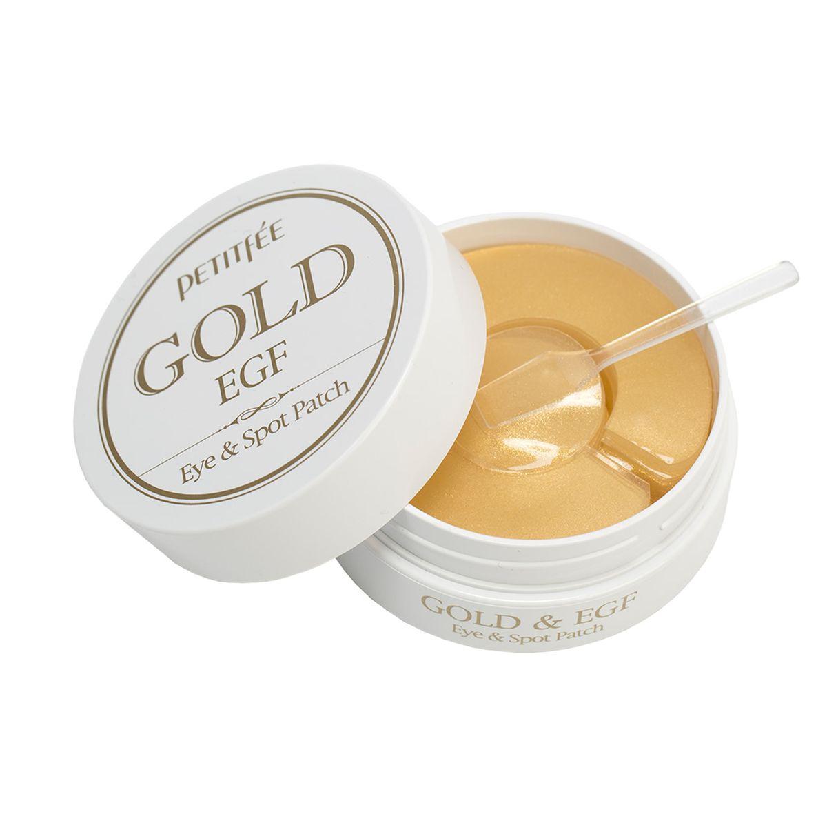 Гидрогелевые патчи для глаз с золотом и EGF Petitfee Gold & EGF - 90 шт