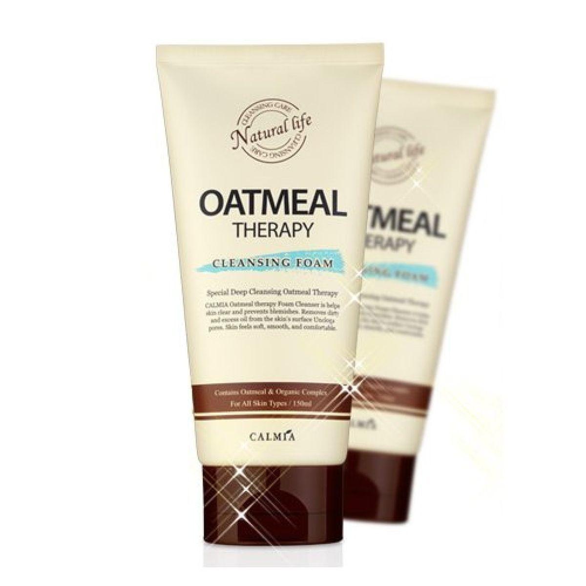 Овсянная пенка для умывания CALMIA Oatmeal Therapy Cleansing Foam - 150 мл