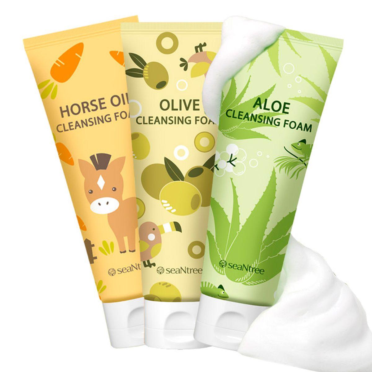 Пенка для умывания SEANTREE Cleansing Foam - 120 мл