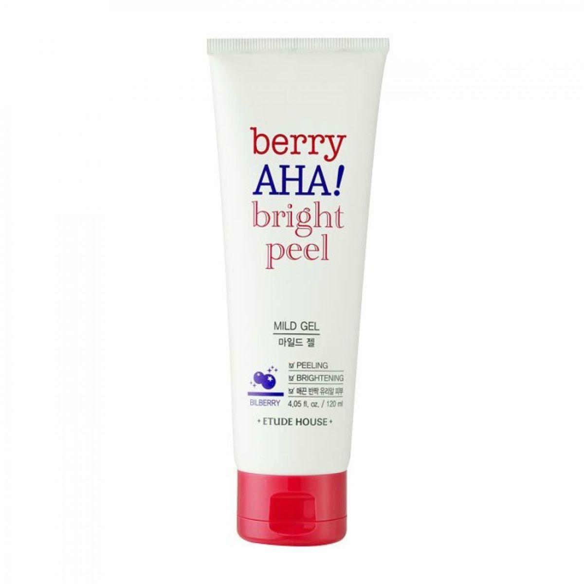 Пилинг-гель для лица с AHA-кислотами ETUDE HOUSE Berry AHA Bright Peel Mild Gel - 120 мл