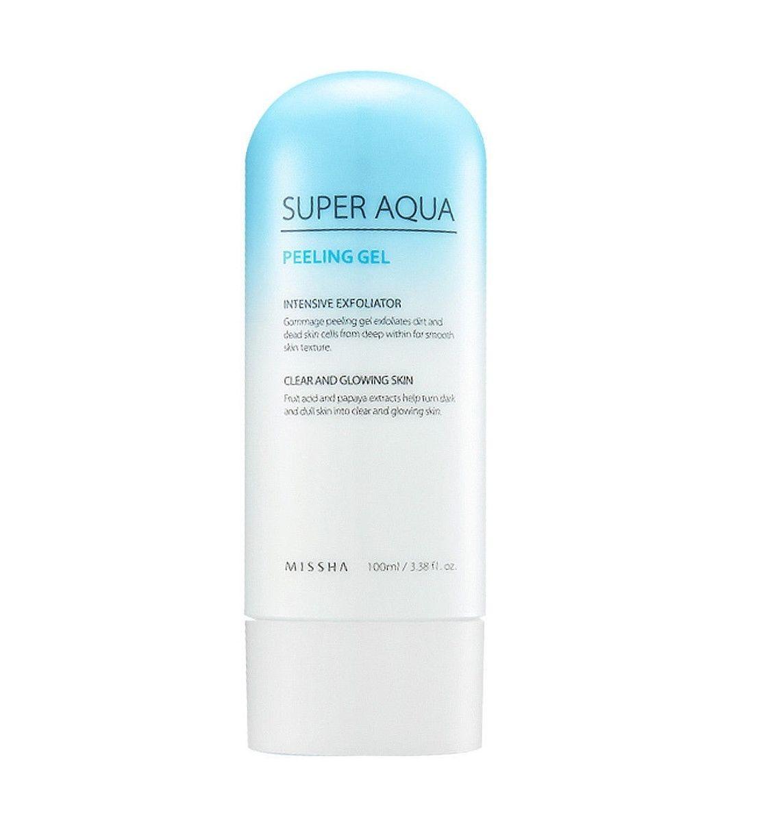 Очищающий пилинг-гель для лица Missha Super Aqua Peeling Gel - 100 мл