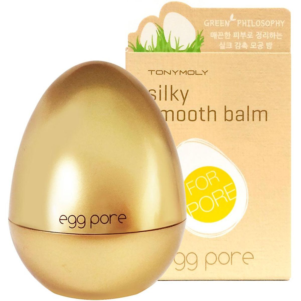 Праймер для сужения пор TONY MOLY Egg Pore Silky Smooth Balm Primer - 20 гр