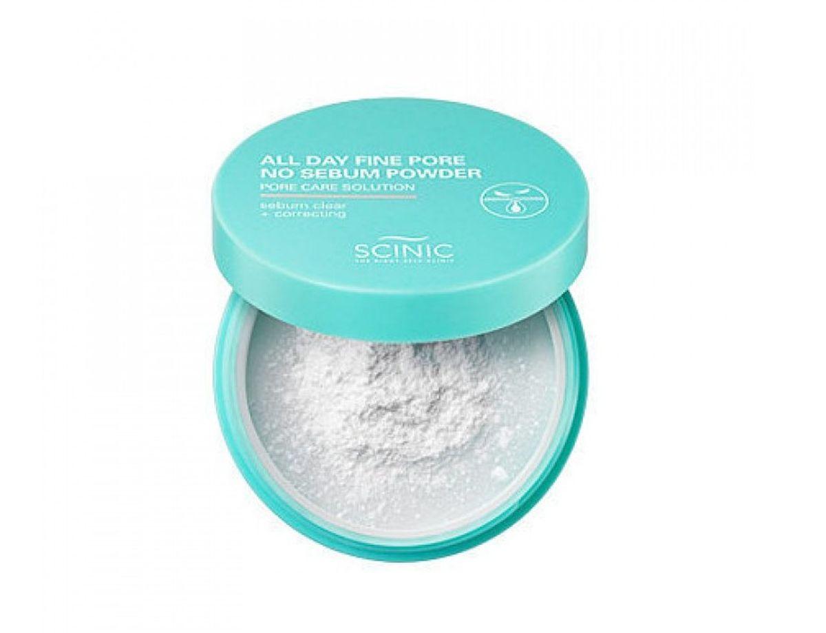 Матирующая рассыпчатая пудра Scinic All Day Fine Pore No Sebum Powder - 5 гр