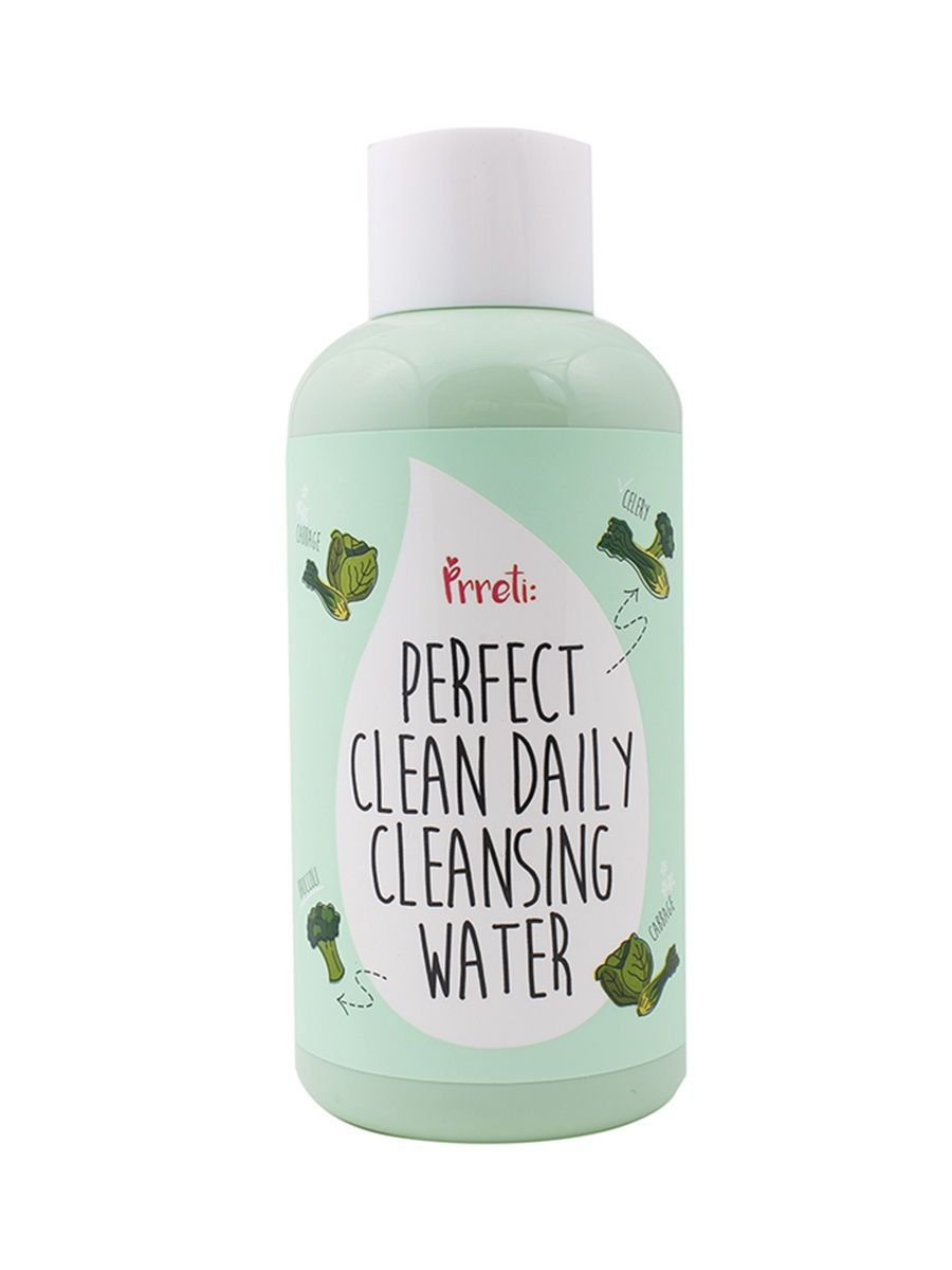 Жидкость для снятия макияжа PRRETI Perfect Clean Daily Cleansing Water - 250 мл