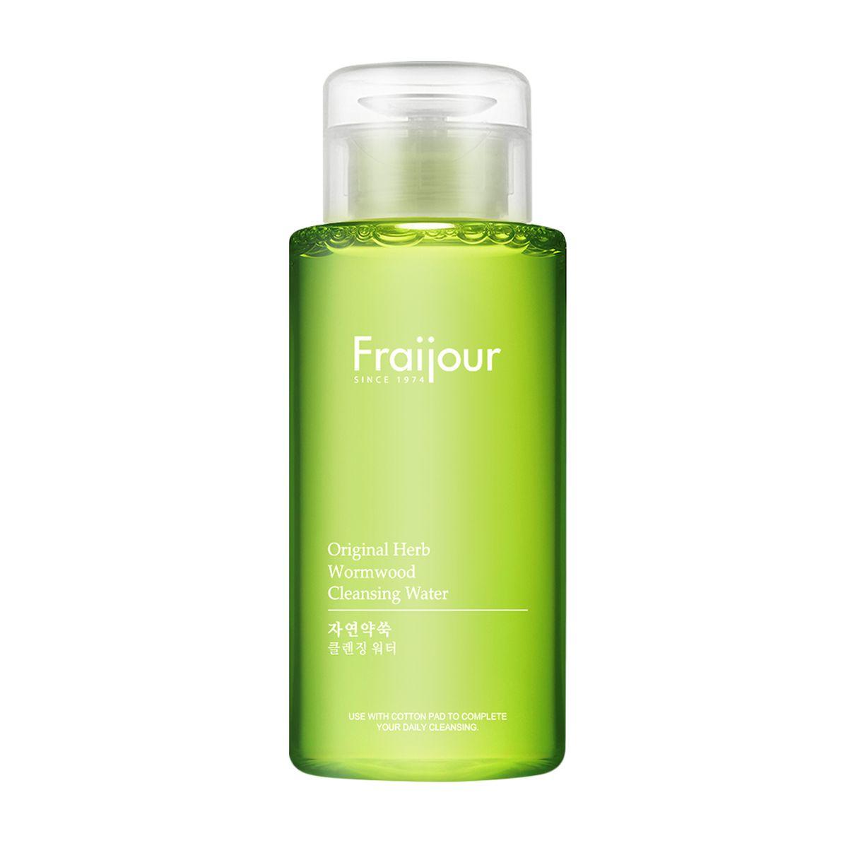 Жидкость для снятия макияжа EVAS Fraijour Original Herb Wormwood Cleansing Water - 300 мл