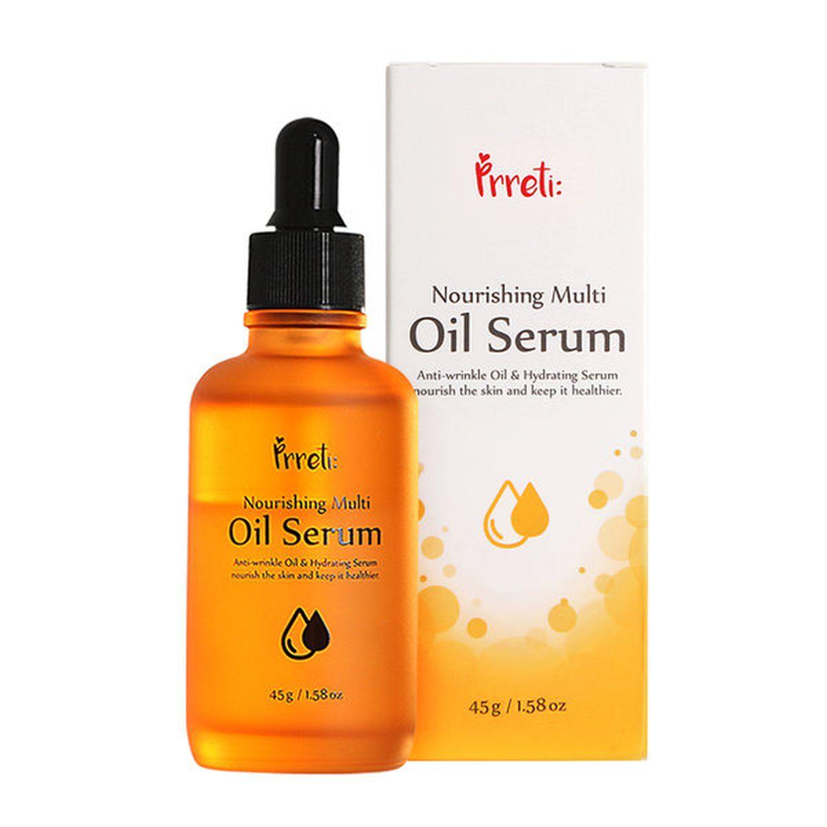 Питательная масляная сыворотка PRRETI Nourishing Multi Oil Serum - 45 мл