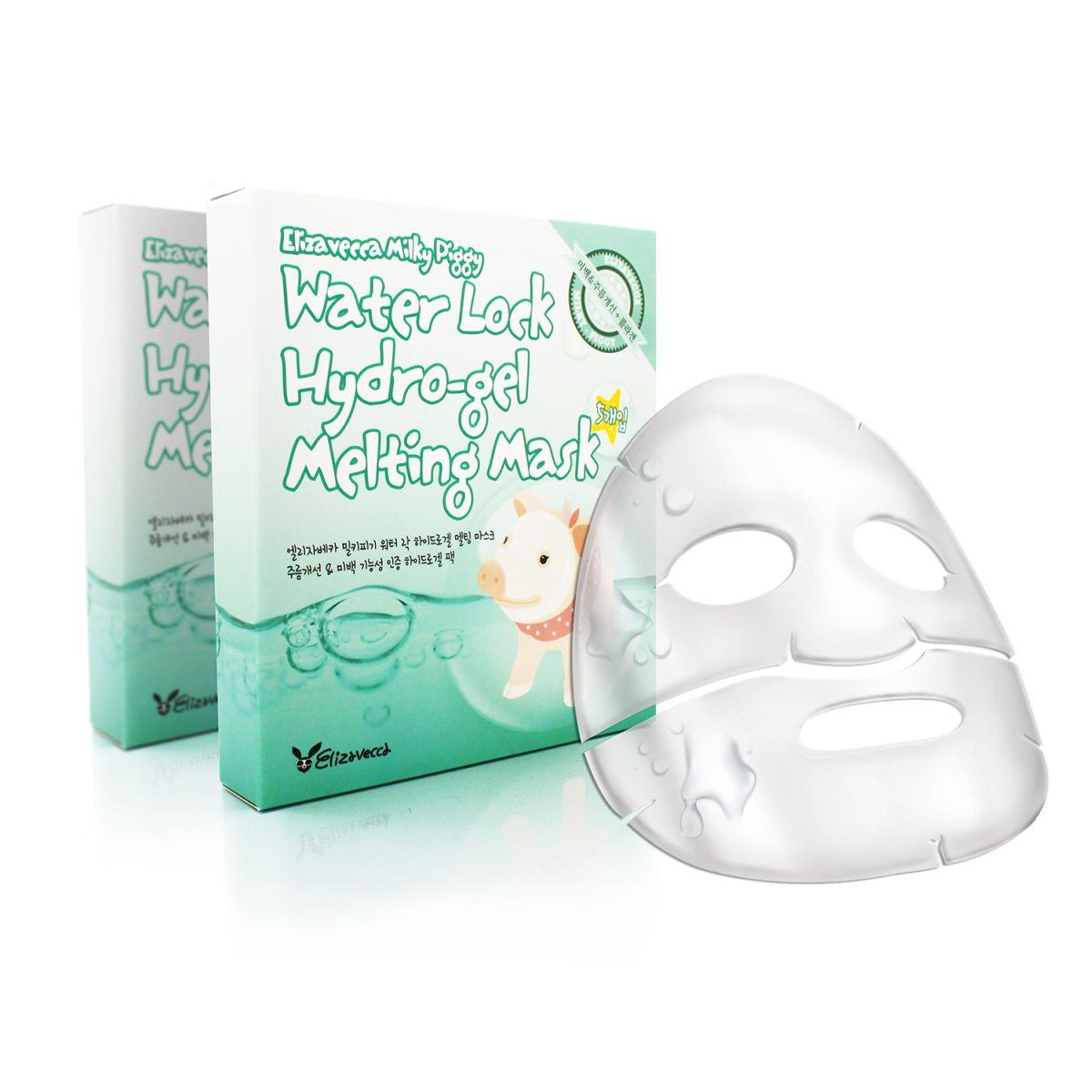 Гидрогелевая маска для лица Elizavecca Milky Piggy Water Lock Hydrogel Melting Mask