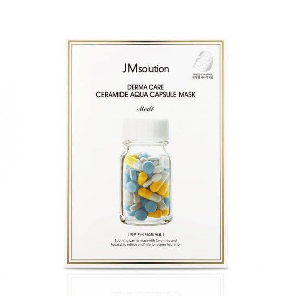 Восстанавливающая целлюлозная маска с керамидами JMsolution Derma Care Ceramide Aqua Capsule Mask - 30 мл