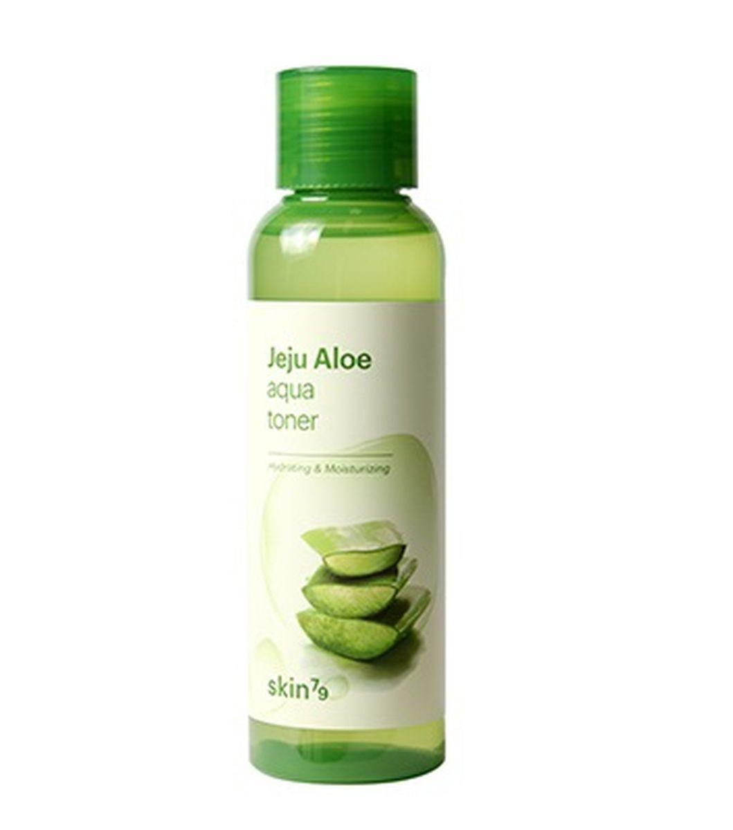 Успокаивающий тонер с алоэ SKIN79 Jeju Aloe Aqua Toner Moisturizing & Soothing - 150 мл