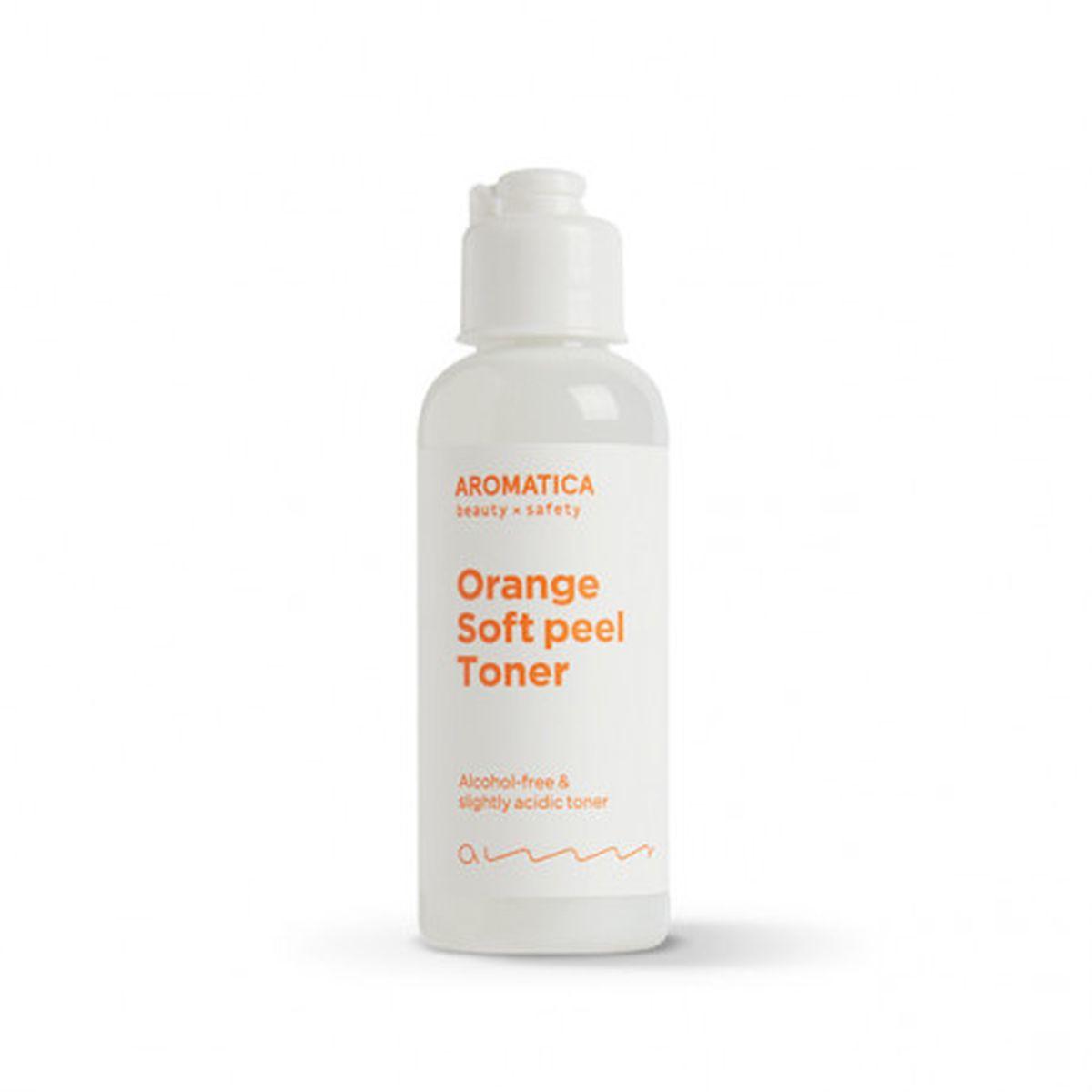 Миниатюра тонера с апельсином Aromatica Orange Soft Peel Toner - 50 мл