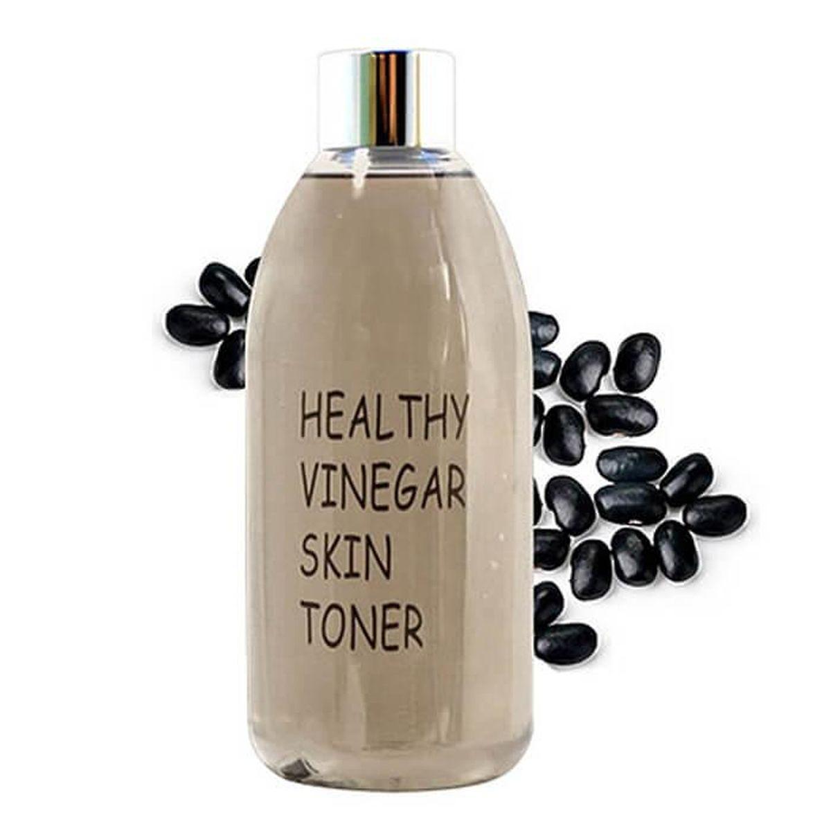 Омолаживающий тоник с соевыми бобами Realskin Healthy Vinegar Skin Toner (Black Bean) - 300 мл